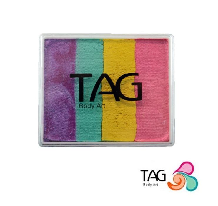 TAG Face Paint Split Cake - EXCL Big Happy Swirl 50gr #9 - Jest Paint Store