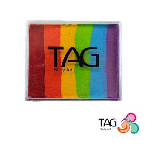 TAG Face Paint Split Cake - EXCL Heaven's Rainbow 50gr  #30 - Jest Paint Store
