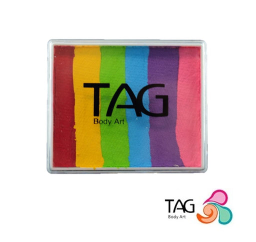 TAG Face Paint Split Cake - Regular Rainbow 50gr    #17 - Jest Paint Store