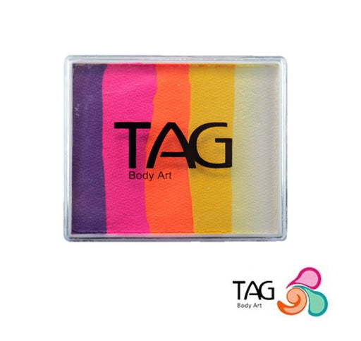 TAG Face Paint Split Cake - Sunset 50gr #20 - Jest Paint Store
