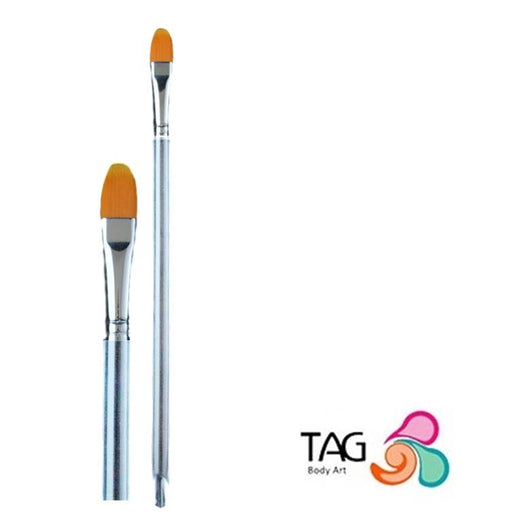"Face Painting Brush - TAG - Filbert #4 (3/8"") - Jest Paint Store"