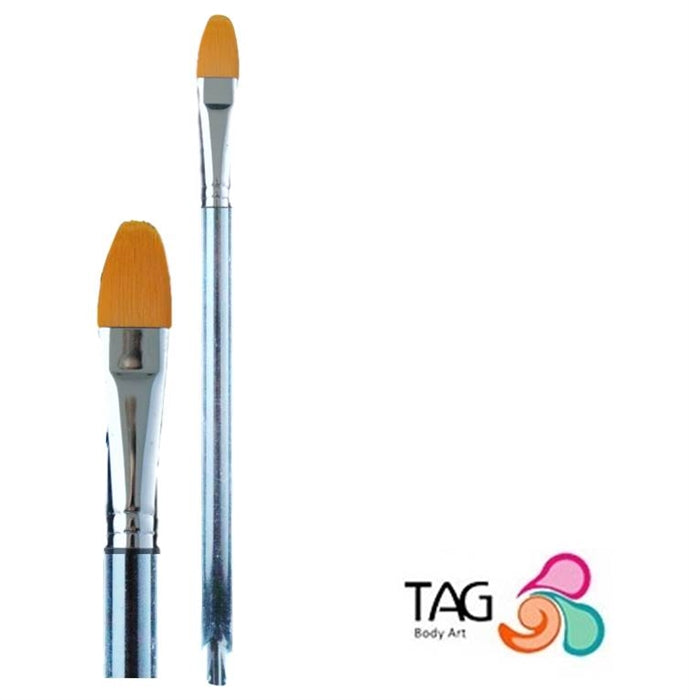"Face Painting Brush - TAG - Filbert #8 (1/2"") - Jest Paint Store"