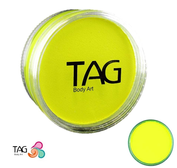 TAG Paint - Neon Yellow 90gr - Jest Paint Store