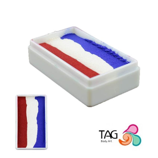 TAG Face Paint 1 Stroke - Red White and Blue   #26 - Jest Paint Store