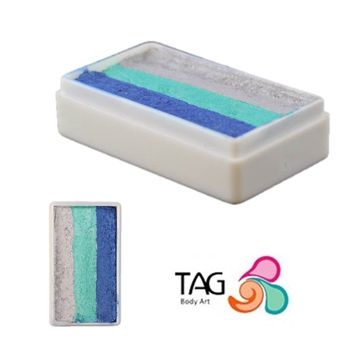 TAG Face Paint 1 Stroke -  EXCL FROZEN (with Silver)  #5 - Jest Paint Store