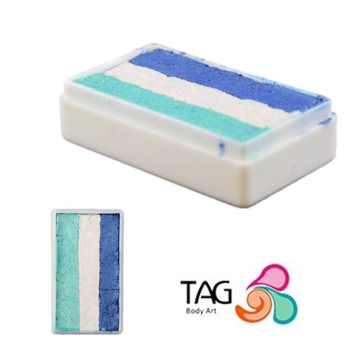 TAG Face Paint 1 Stroke - EXCL Frozen Winter (with Pearl White) 30gr #23 - Jest Paint Store