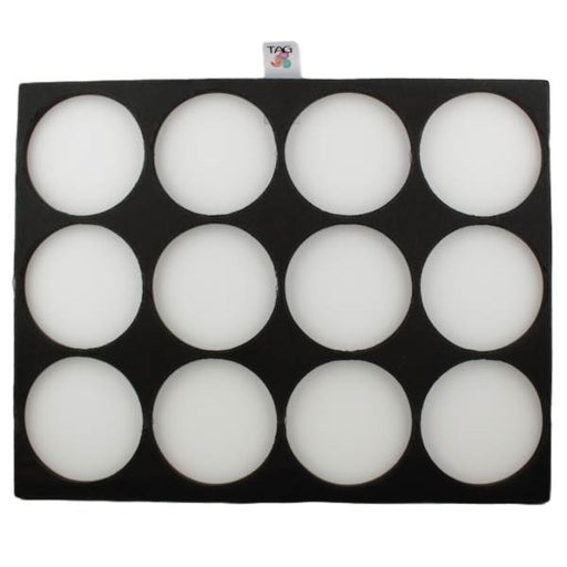 TAG | Face Painting Foam Insert - 12 Round Slots (Global/ TAG/Cameleon/ DFX/ Kryvaline) - Jest Paint Store