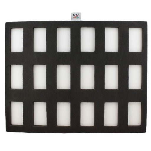 TAG | Face Painting Foam Insert - 18 Rectangle Slots (30gr 1 Strokes) - Jest Paint Store