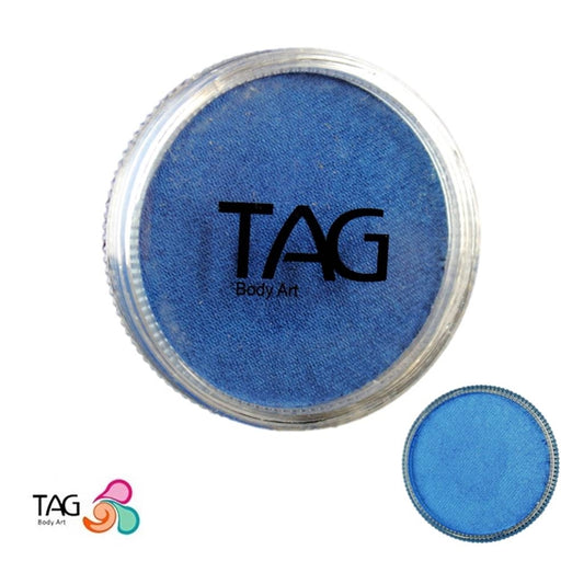 TAG Face Paint - Pearl Blue 32g - Jest Paint Store