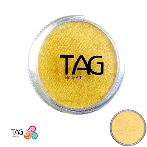 TAG Face Paint - Pearl Gold  32g - Jest Paint Store