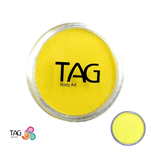 TAG Face Paint - Pearl Yellow  32g - Jest Paint Store