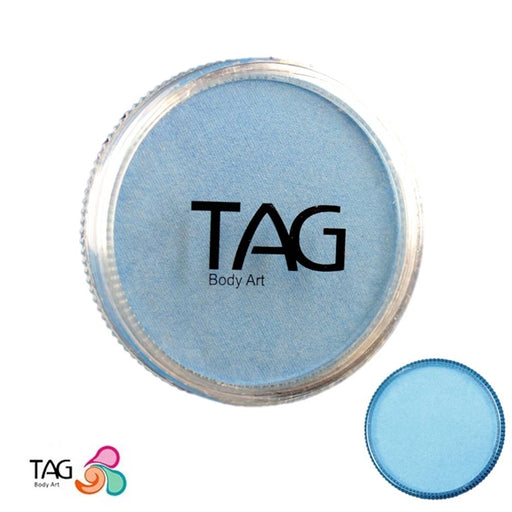 TAG Face Paint - Pearl Sky Blue  32g - Jest Paint Store