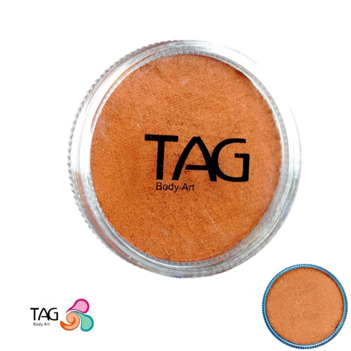 TAG Face Paint - Pearl Copper 32g - Jest Paint Store