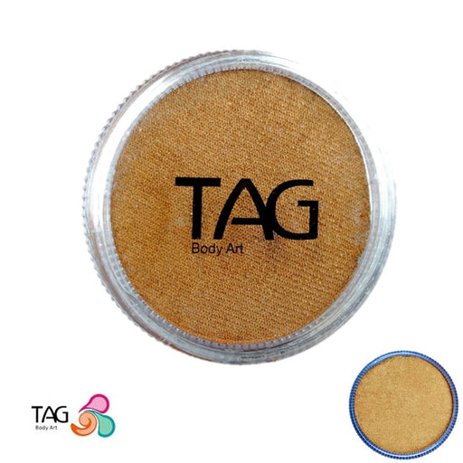TAG Face Paint - Pearl Old Gold  32g - Jest Paint Store