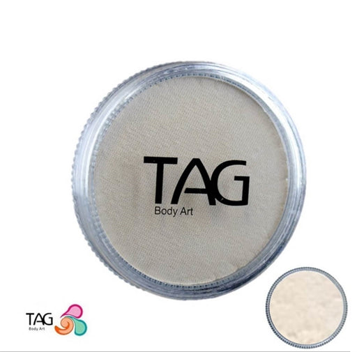 TAG Face Paint - Pearl White  32g - Jest Paint Store
