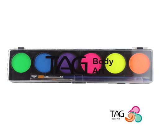 TAG Paint - 6 Color Neon Palette - Jest Paint Store