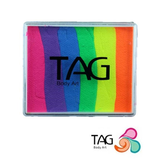 TAG Face Paint Split Cake - Neon Rainbow 50gr  #21 - Jest Paint Store