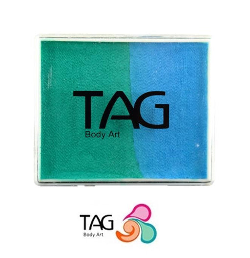 TAG Face Paint Split - Teal and Light Blue 50gr  #4 - Jest Paint Store