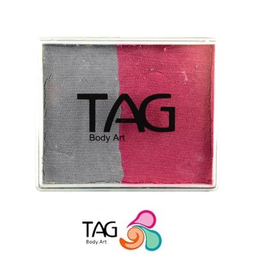 TAG Face Paint Split - Soft Grey and Pink 50gr   #13 - Jest Paint Store