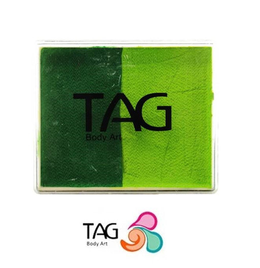 TAG Face Paint Split - Medium Green and Light Green 50gr  #3 - Jest Paint Store