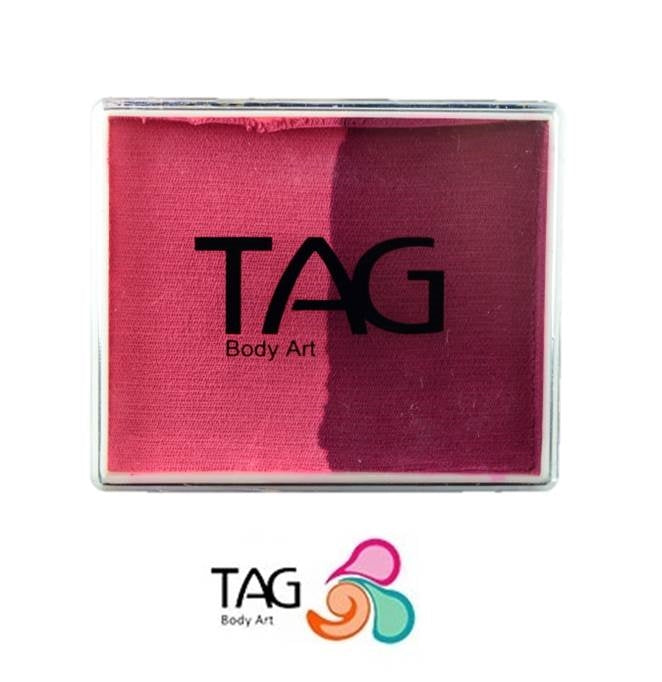 TAG Face Paint Split - Berry Wine and Pink 50gr  #10 - Jest Paint Store