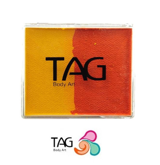 TAG Face Paint Split -Yellow and Orange 50gr  #2 - Jest Paint Store