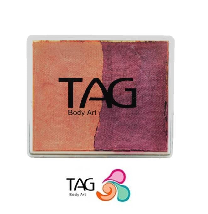 TAG Face Paint Split - Pearl Blush and Pearl Wine 50gr  #2 - Jest Paint Store