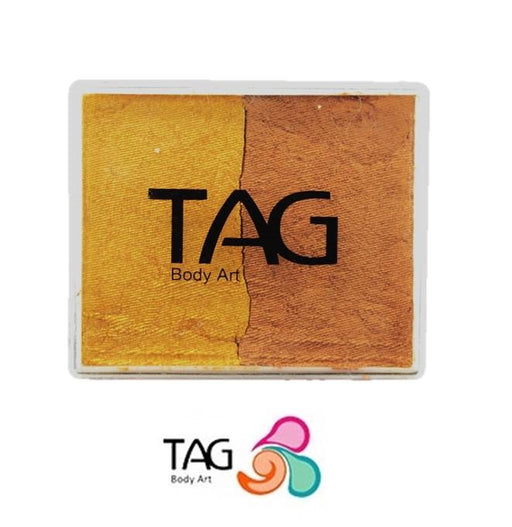 TAG Face Paint Split - Pearl Old Gold and Pearl Gold 50gr #3 - Jest Paint Store