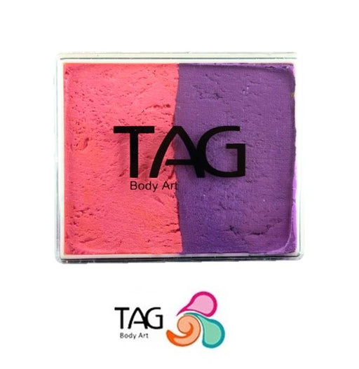 TAG Face Paint Split - EXCL Pink and Purple 50gr   #8 - Jest Paint Store