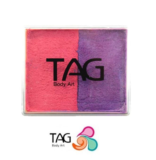 TAG Face Paint Split - EXCL Pearl Rose and Pearl Purple 50gr - Jest Paint Store