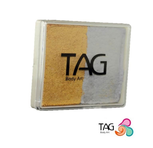 TAG Face Paint Split - EXCL Pearl Gold and Pearl Silver 50gr - Jest Paint Store