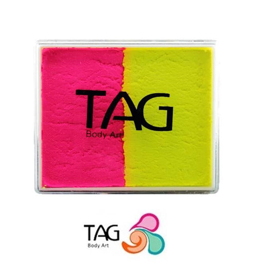 TAG Paint Split - EXCL Neon Yellow and Neon Magenta 50gr - #15 - Jest Paint Store