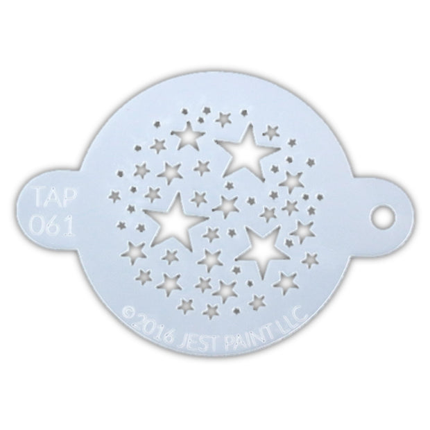 TAP 061 Face Painting Stencil - Magical Stars 1