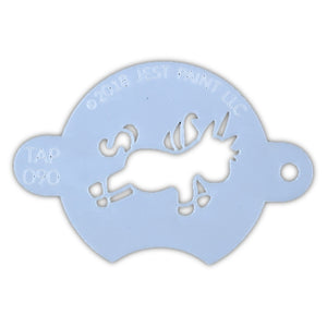 TAP 090 Face Painting Stencil - Chubby Little Unicorn