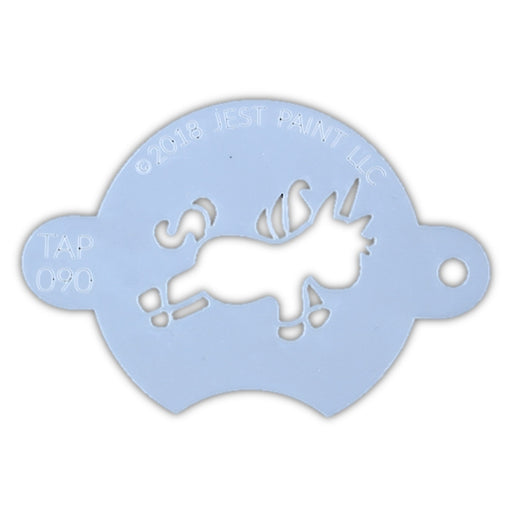 TAP 090 Face Painting Stencil - Chubby Little Unicorn - Jest Paint Store