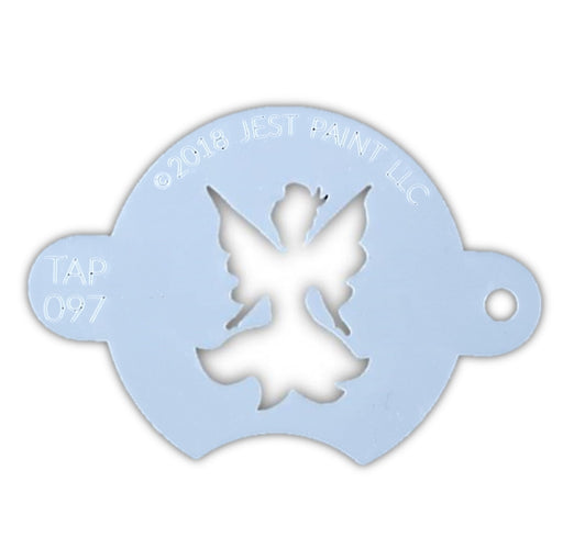 TAP 097 Face Painting Stencil - Centerpiece Fairy - Jest Paint Store