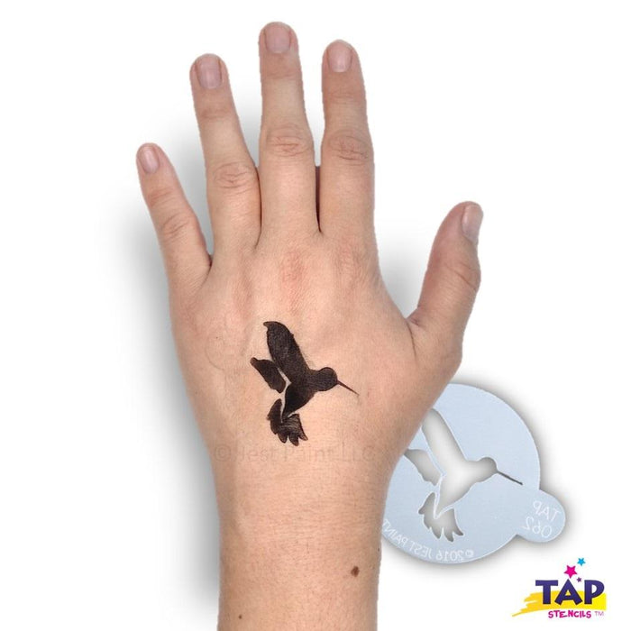 TAP 062 Face Painting Stencil - Humming Bird