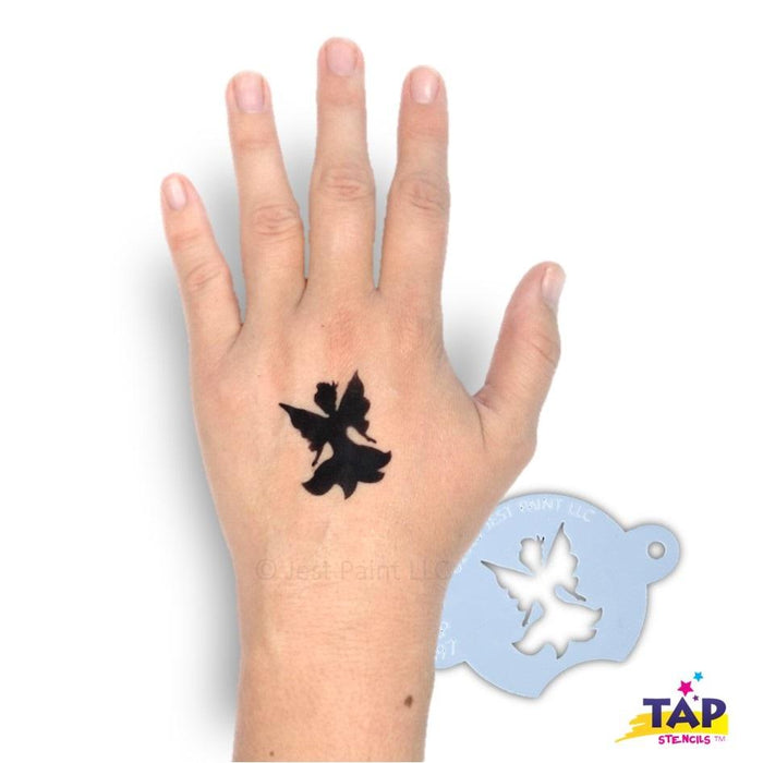 TAP 097 Face Painting Stencil - Centerpiece Fairy