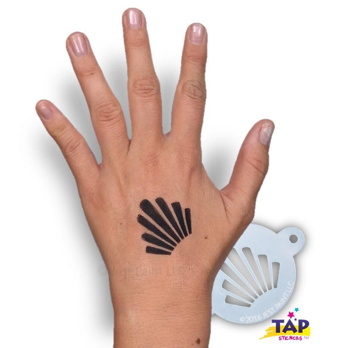 TAP 054 Face Painting Stencil - Crown - Jest Paint Store