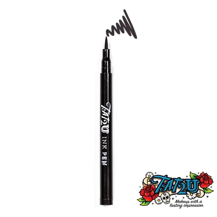TAT2U Ink Body Art Pen - Black (01) - Jest Paint Store