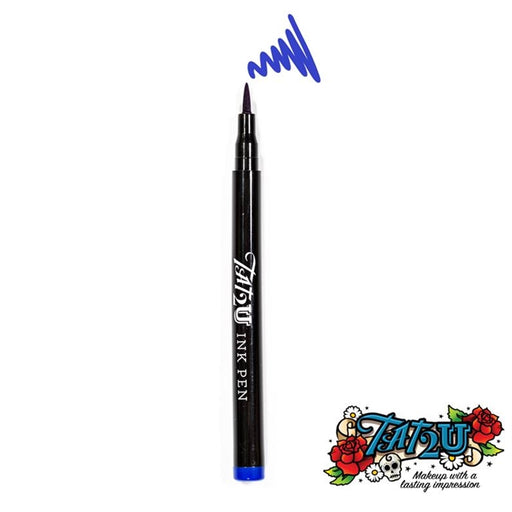 TAT2U Ink Body Art Pen - Blue (02) - Jest Paint Store