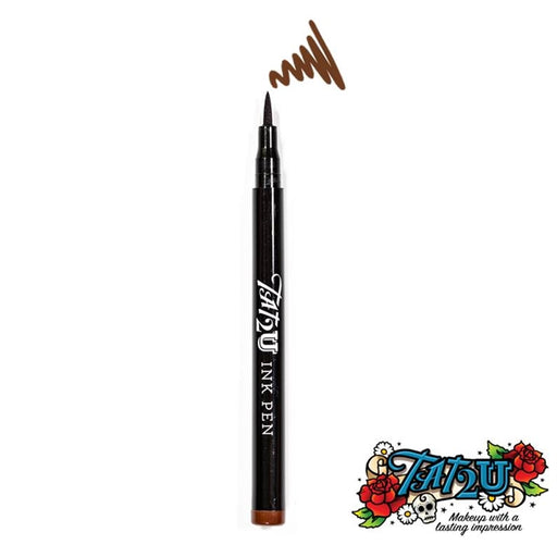 TAT2U Ink Body Art Pen - Henna Brown (03) - Jest Paint Store