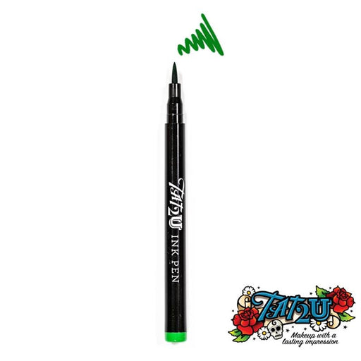 TAT2U Ink Body Art Pen - Green (04) - Jest Paint Store