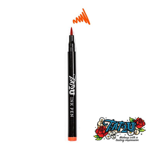 TAT2U Ink Body Art Pen - Orange (05) - Jest Paint Store
