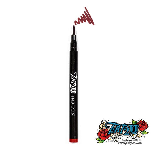 TAT2U Ink Body Art Pen - Red (08) - DISCONTINUE - Jest Paint Store