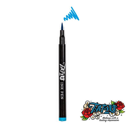 TAT2U Ink Body Art Pen - Turquoise (09) - Jest Paint Store