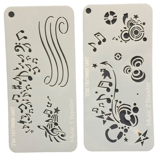 Ultimate Graffiti Eyes Face Painting Stencils - Booster Pak Good Vibrations! - Jest Paint Store
