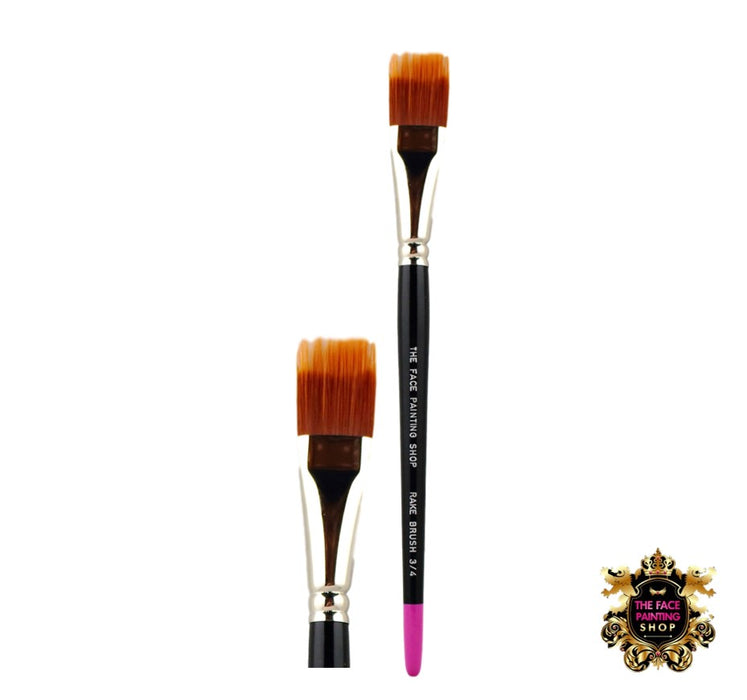 The Face Painting Shop Brush - RAKE Brush 3/4""