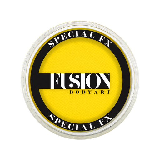 Fusion Body Art & FX - UV Neon Yellow 32gr - Jest Paint Store