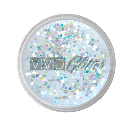 VIVID Glitter | Loose Chunky Hair and Body Glitter | Crystal Clear (7.5gr) - Jest Paint Store
